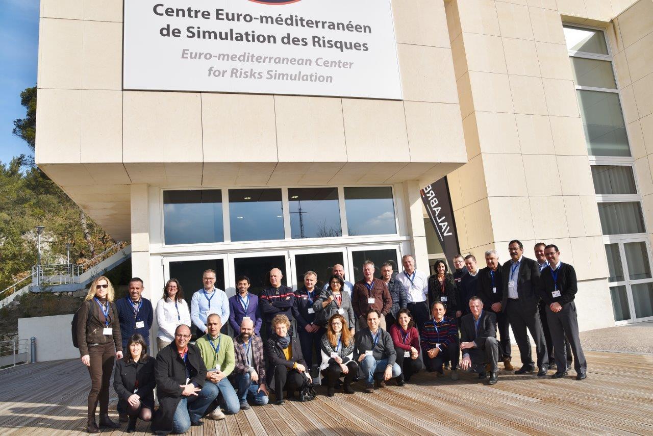 Lançamento do projeto de cooperação europeia IGNIS, Valabre